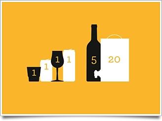 Standardglas och alkohol