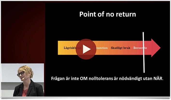 """Anna Sjöström föreläser på Almedalen 2017 """"Behövs nolltolerans?"""""""