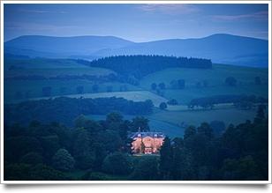 Castle Craig Skottland, på håll