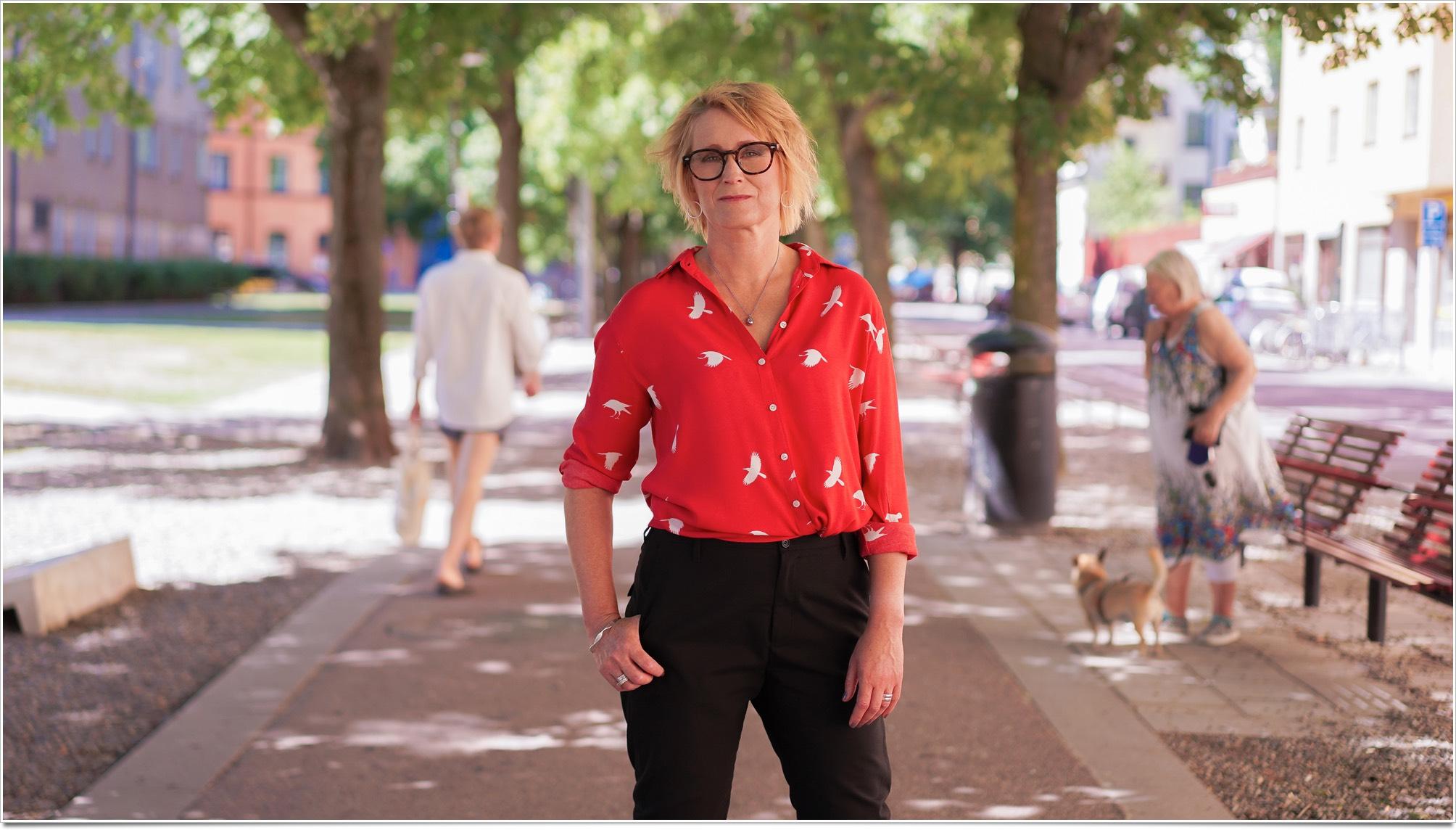Anna Sjöström, Promilletanten